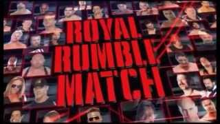 WWE ROYAL RUMBLE 2013 FULL MATCH CARD