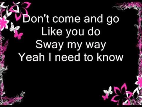 Bic Runga - Sway (lyrics)