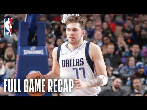 TRAIL BLAZERS vs MAVERICKS | Luka Takes Over Down The Stretch | February 10, 2019