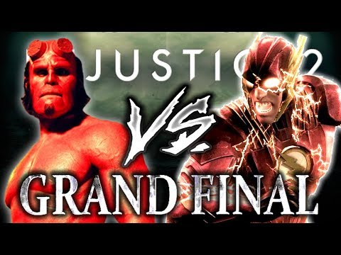 Injustice 2: The Last Tournament of 2017 - Grand Finals - Rewind [The Flash] VS Dab [Hellboy]!