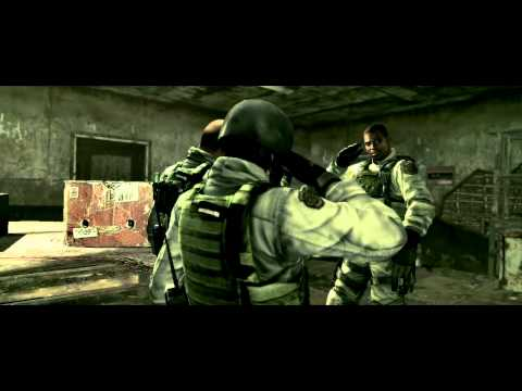 HD Resident Evil 5 : BSAA Alpha Team member with clean bullaetproof gameplay!