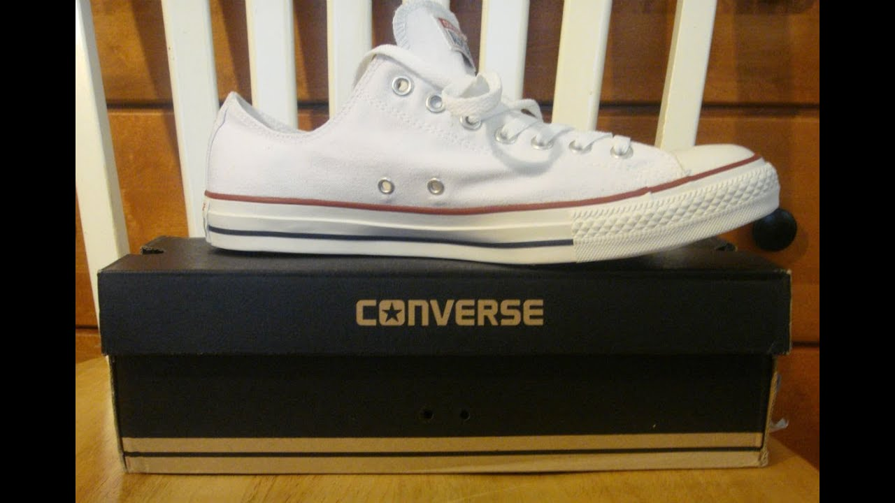 Converse Optical White Chuck Taylor All Stars Shoe Review - YouTube 5908027743