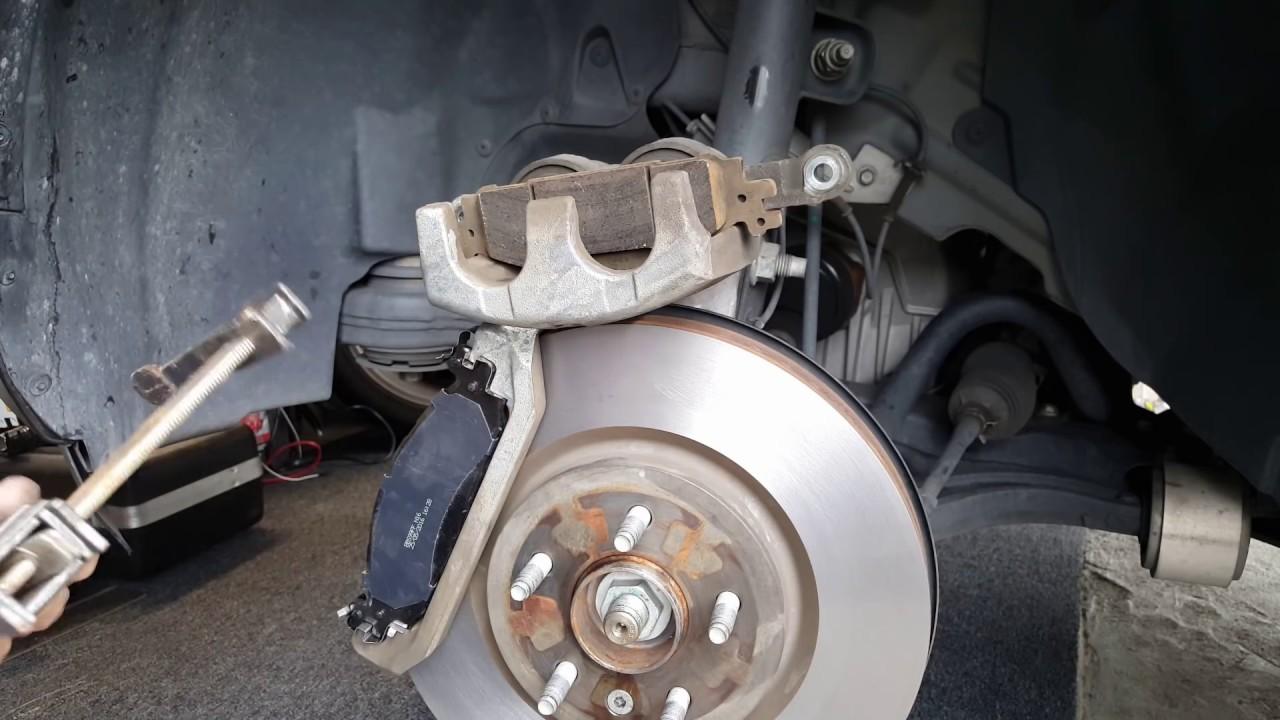 How To Change Brakes On 2013 Ford Explorer Xlt Youtube