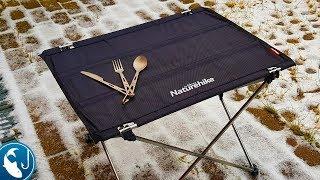 ???? Обзор столика для рыбалки и столовых приборов. Товары из Китая banggood.