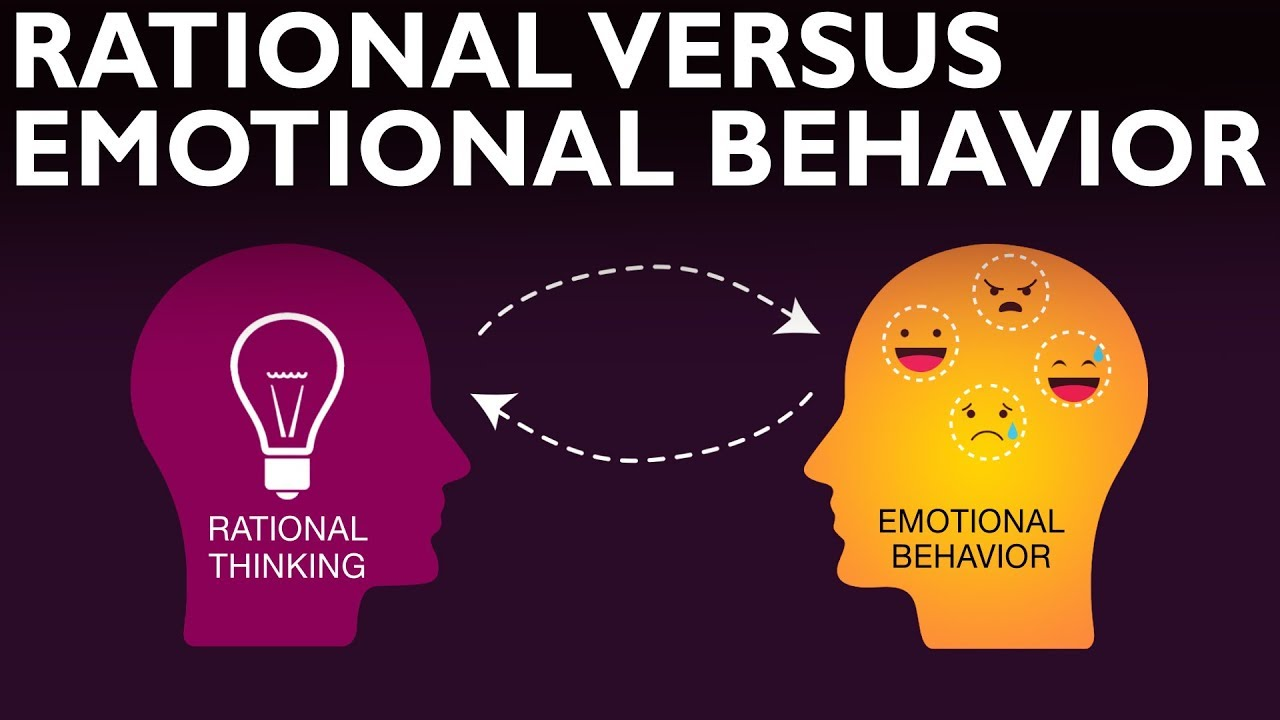 RATIONAL VS EMOTIONAL BEHAVIOR by Rich Life - YouTube