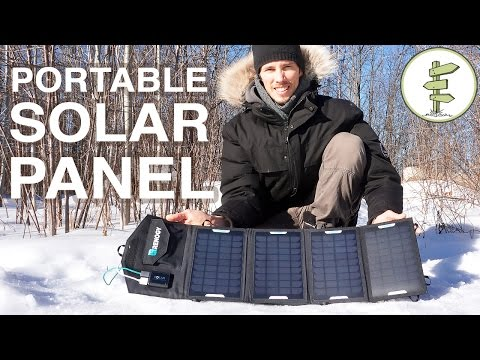 How Our USB Portable Solar Panel System Works  - Off-Grid Living