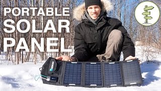 how our usb portable solar panel system works off grid living