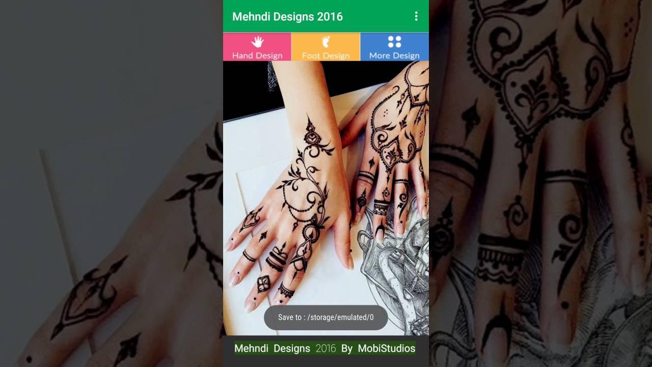 Mehndi App For Android : Mehndi designs android app mobistudios youtube