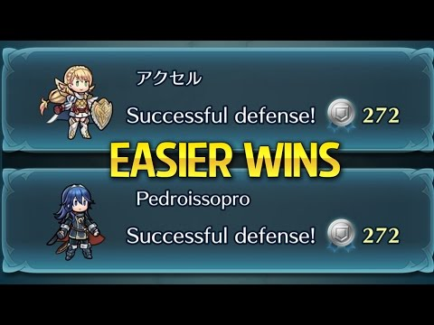 Fire Emblem Heroes - How to get EASY Arena 'Defense' wins