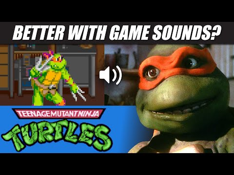 TMNT (1990) with 80s arcade sounds!!