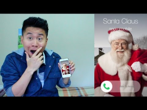 Calling Real Santa Claus and he ANSWERED?!