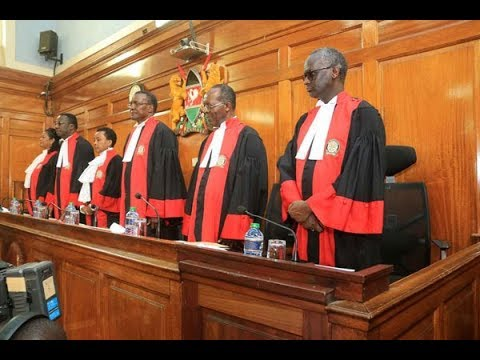 Kenya Supreme Court's verdict on presidential petition