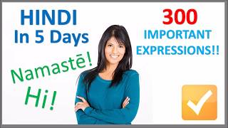 Learn Hindi in 5 Days Conversation for Beginners