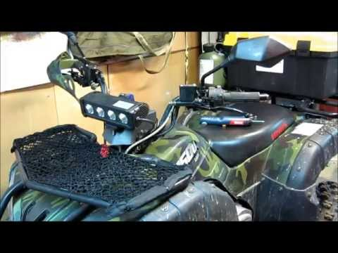 Irbis ATV 150U LUX. Замена кронштейнов крепления защиты рук