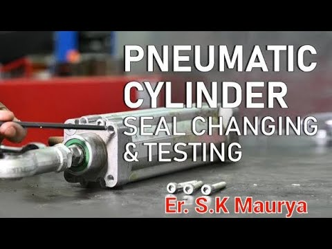 Pneumatic Cylinder  SEAL KIT FITTING(MUST WATCH)- For Mechanical Engineer