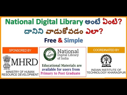Digital Library (National Digital Library Of India)