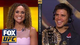 Henry Cejudo talks about winning the flyweight title | INTERVIEW | UFC 227