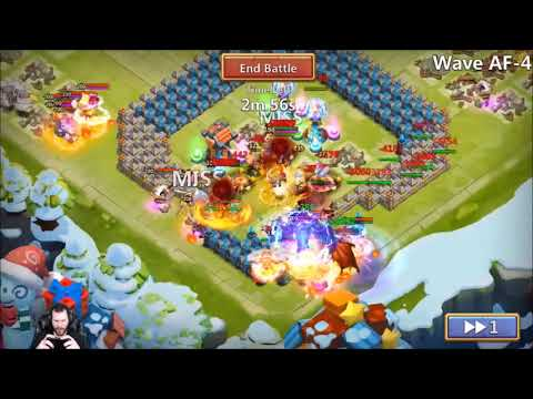 JT's Free 2 Play HBM AF Demogorgons Scary Smashed IT Castle Clash