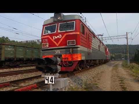 Сплотка электровозов ЭП1-367 и ЭП1-382