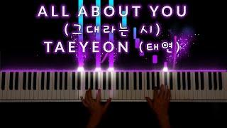 Gambar cover 태연(TAEYEON) - 그대라는 시 (All About You) 「호텔 델루나 OST part 3 - Hotel Del Luna」