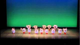 平成24年3月25日 バレエ発表会 構成・編成 今村バレエ教室 今村多美子先生.