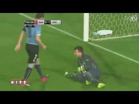 HD ملخص مباراه بتعلق جواد بداه 2015 maroc vs uruguay 0-1 Résumé du match