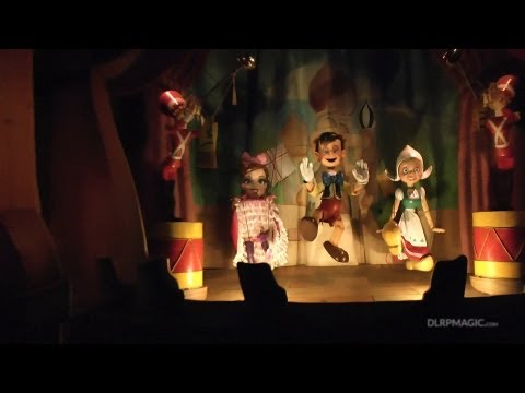 Les Voyages de Pinocchio - Disneyland Paris HD Complete Ridethrough