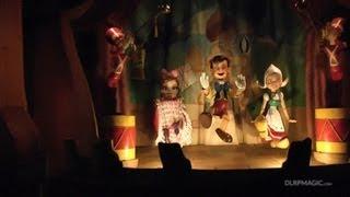 Les Voyages de Pinocchio - Disneyland Paris HD Complete Ridethrough / Видео