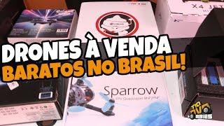 DRONE À VENDA! BARATO E NO BRASIL!