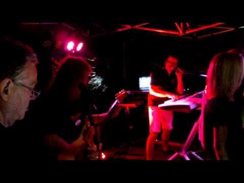 The new Black Bottom Band in den Rheinanlagen