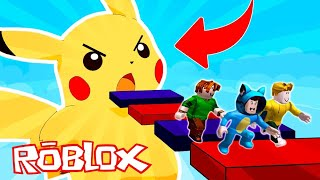 BEBE MILO JUEGA POKEMON LET'S GO KAWAII 😍 ROBLOX TYCOON POKEMON
