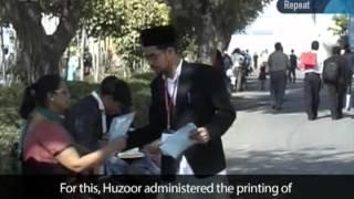 Worldwide Ahmadiyya Muslim Community - Moving Ahead 2011-2012