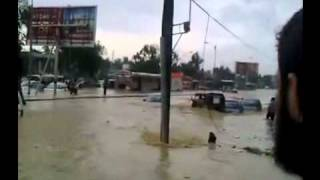 SHOCKING RAIN IN LATIFABAD HYDERABAD, SINDH 12 SEPT 2011