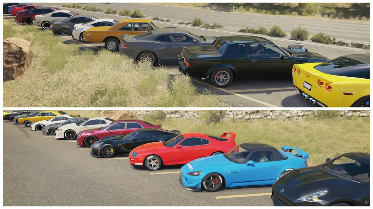 Forza Horizon Jdm Vs Muscle Meet Build Cruise
