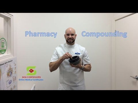 Pharmacy Compounding
