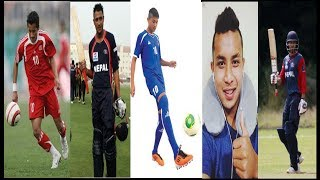 Top 10 Handsome Footballers and cricketers  Of Nepal