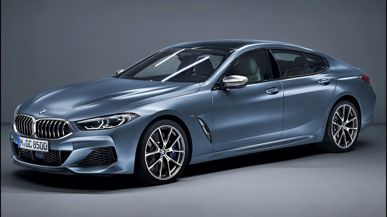 2020 bmw m850i xdrive gran coupe - luxury four-door coupe