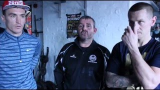 Interview with Jon Kays, Warren Tansey and coach Darren McCarrick