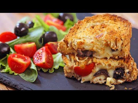 Mediterranean Sandwich Recipe   How Tasty Channel