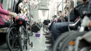 видео можно в метро с велосипедом