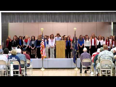 HOME, by the Warren County High School Choir @ Morrison Elementary School's Veterans Day Program