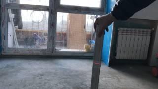 Черновая отделка в квартире, расположенной по адресу: г. Сыктывкар, ул. Дальняя д. 37