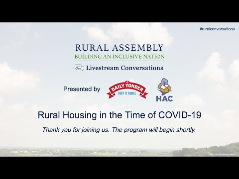 Rural Housing in the Time of COVID - Part 2