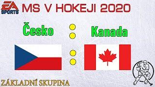 HOKEJ MS 2020 | Česko - Kanada |