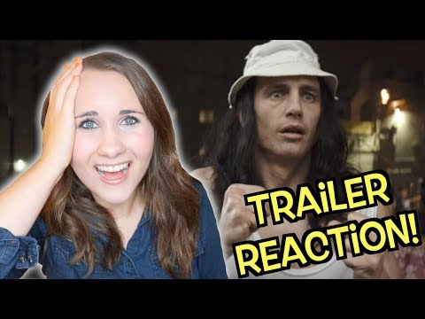 Rachel Reacts to The Disaster Artist Official Trailer #2 || Adorkable Rachel