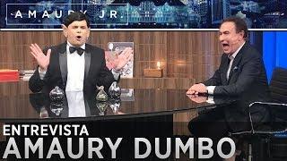"""Carioca se transforma em """"Amaury Dumbo"""""""