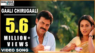 Vasantam Movie || Gaali Chirugaali Video Song || Venkatesh, Kalyani thumbnail