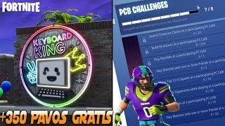 Win 350 FREE PAVOS With These Challenges - PCB FORTNITE