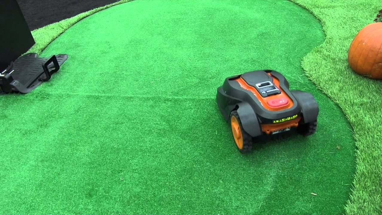 Worxpowertools Land Droid Wireless Battery Powered Lawn