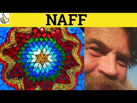 Naff - British Slang - ESL British English Pronunciation